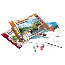 Painting by Numbers Boating River Adult Set