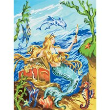 Painting by Numbers Small Mermaid Junior Set (Set of 3)