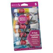 Gouache Watercolor Paint Set
