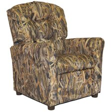 Flooded Timber Camo Kids Recliner