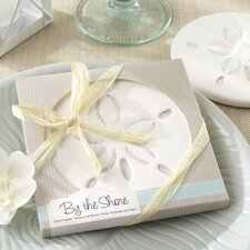 By The Shore Sand Dollar Coaster (Set of 10)