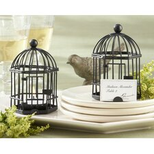 Love Songs Birdcage Tealight / Place Card Holder (Set of 16)