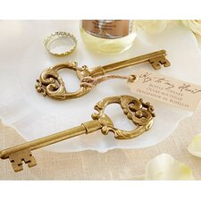 Key to My Heart Bottle Opener (Set of 15)