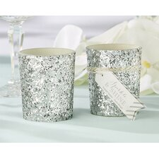 Sparkle and Shine Glitter Votive (Set of 12)