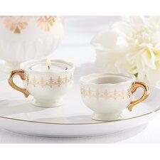 Classic Teacups Tealight Holder (Set of 12)