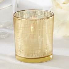 Classic Stripe Tealight Holder (Set of 12)