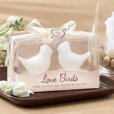 Love Birds Tea Light Candle (Set of 30)