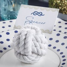 Nautical Cotton Rope Place Card Holder (Set of 24)