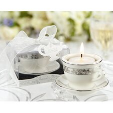 """Teacups and Tealights"" Miniature Tealight Holder (Set of 10)"