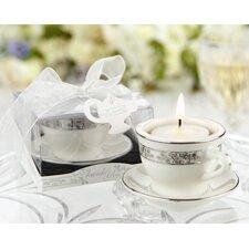 """""""Teacups and Tealights"""" Miniature Tealight Holder (Set of 10)"""