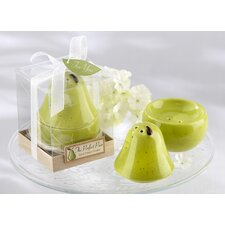 """The Perfect Pair"" Ceramic Salt and Pepper Shaker (Set of 10)"