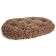Machine Washable Oval Sherpa Fleece Pet Mattress