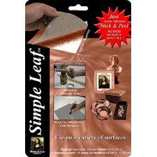 Mona Lisa Simple Metal Leaf Sheets (Set of 18)