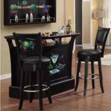 Goddard Series Bar Set with Wine Storage