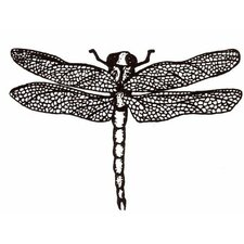 Mounted Rubber Dragonfly Stamp (Set of 2)