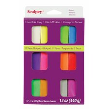 Polymer Multi-Pack Clay (Set of 12)
