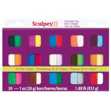 Polymer Sampler Clay (Set of 30)