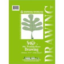 Premium Heavy Drawing Paper Pad