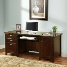 Tribeca Loft Cherry Executive Desk