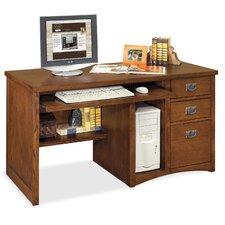 Mission Pasadena Deluxe Computer Desk