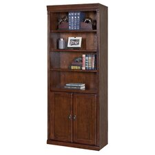 "Huntington Oxford 2 Door 72"" Standard Bookcase"
