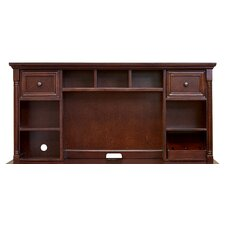 "Mount View Flex 23"" H x 48"" W Desk Hutch"