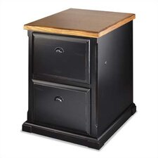 Southampton Onyx 2-Drawer Vertical File
