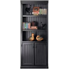 "Southampton Onyx Lower Door 73"" Standard Bookcase"