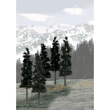 Ready Made Tree Value Conifer (Set of 12)