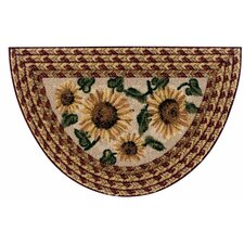 Sunflower Braid Mat