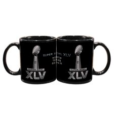 2011 Super Bowl Logo 11 oz. Coffee Mug