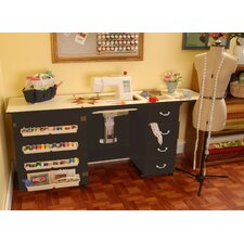 Norma Jean Wooden Sewing Table