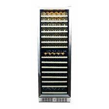 160 Bottle Dual Zone Built-In Wine Refrigerator