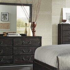 Buxton 6 Drawer Dresser with Mirror