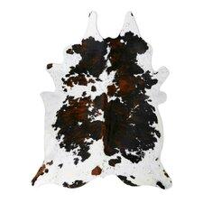 Natural Cowhide Tri-color Rug