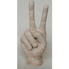 Peace Sign Sculpture