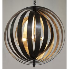 Tournant 4 Light Globe Pendant