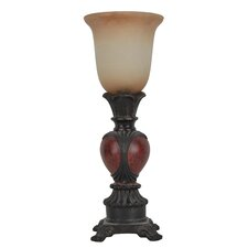 """Uplight 16"""" H Table Lamp with Bell Shade"""
