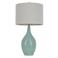 "27"" H Table Lamp with Drum Shade"