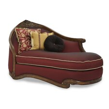 Oppulente Fabric Chaise Lounge