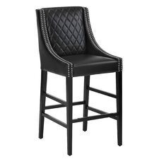 "5West Malabar 29.5"" Bar Stool with Cushion"