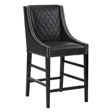 """5West Malabar 25.5"""" Counter Stool with Cushion"""