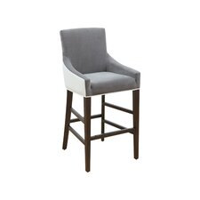 "5West Vincent 30"" Bar Stool with Cushion"