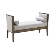 5West Pietro Two Seat Upholstered Bench