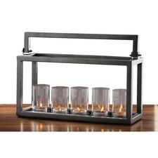 Hampton Iron / Glass Candelabra