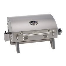 """Aussie 26.5"""" LP Gas Grill with Tabletop"""