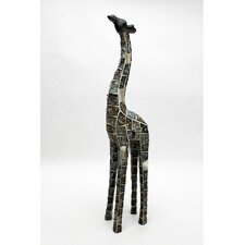 Mosaic Animal Giraffe Resin Figurine
