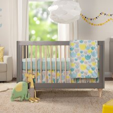 Tulip Garden 5 Piece Crib Bedding Set