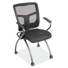 Mesh Nesting Chair with Arms