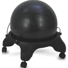 Sivan Health and Fitness Balance Ball Fit Chair Base with Ball and Pump
